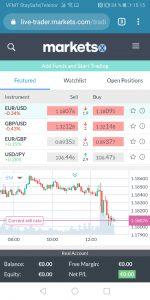 markets Trading app og software